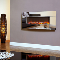 Flamonik Mirror electric fire by Celsi