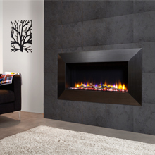 A wall-mounted version of Celsi Fire's Ultiflame range - Instinct