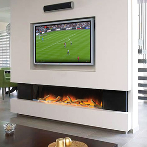 Wall Fires Create A Striking Modern Feature In Your