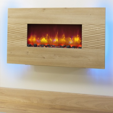 Be Modern Orlando Odessa Oak Electric Fire