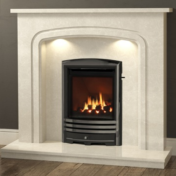 Be Modern 'Plus' Mirandola Marble Fireplace