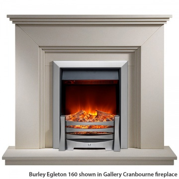 burley egleton 170r ss electric fire. Black Bedroom Furniture Sets. Home Design Ideas