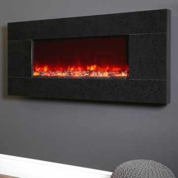 Celsi Electriflame XD Basalt Granite Wall-Mounted Electric Fire