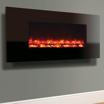 Celsi Electriflame XD Piano Black Wall-Mounted Electric Fire