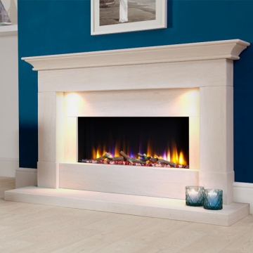 Celsi Ultiflame VR Parada Elite Illumia Electric Fireplace Suite