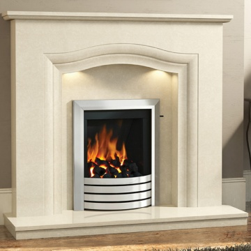 Elgin & Hall Rosalina Marble Fireplace