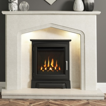 Elgin & Hall Aurelia Marble Fireplace
