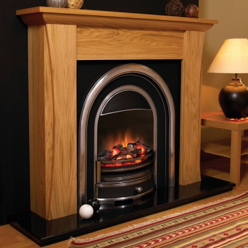Flamerite Austen Electric Fireplace Suite