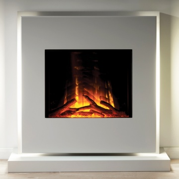 Flamerite Elara Electric Fireplace Suite