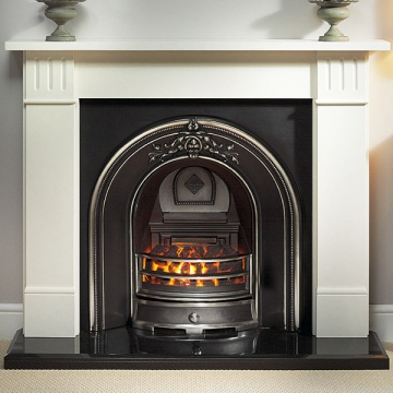 Gallery Clarendon Agean Limestone Fireplace