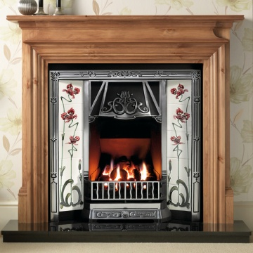 Gallery Danesbury Wooden Fireplace