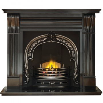 Gallery Dublin Corbel 60'' Granite Fireplace