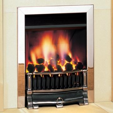 Gazco Logic He Holyrood Balanced Flue Convector Gas Fire