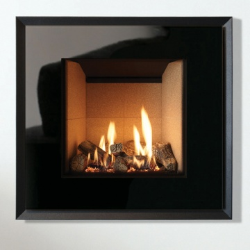 Gazco Riva2 530 Evoke Glass Balanced Flue Gas Fire