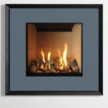 Gazco Riva2 530 Evoke Steel Gas Fire