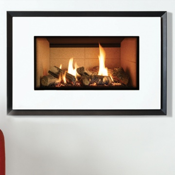 Gazco Riva2 670 Evoke Glass Gas Fire