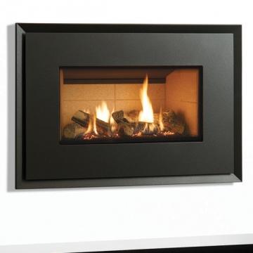 Gazco Riva2 670 Evoke Steel Gas Fire Flames Co Uk