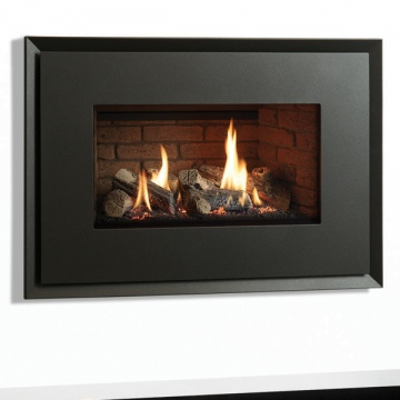 Gazco Riva2 670 Evoke Steel Gas Fire