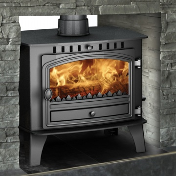 Hunter Herald 14 Double Sided Wood Burning & Multi-Fuel Stove