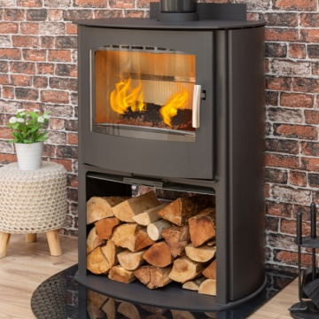 Mendip Churchill 10 Logstore Convection Woodburning Stove