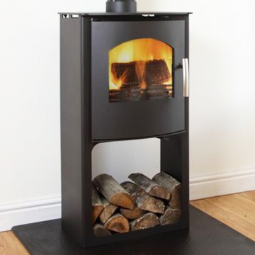 Mendip Churchill 6 SE Convection With Logstore Multi-Fuel Stove