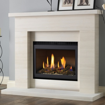 drayton with chelsea high efficiency gas fire suite