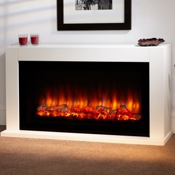 Suncrest Lumley Electric Fireplace Suite
