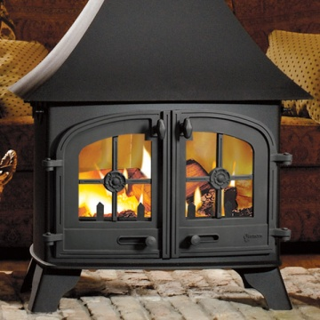 Yeoman County Double Sided Wood Burning Stove