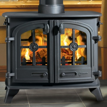Yeoman Exe Double Sided Wood Burning Stove