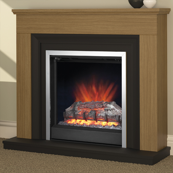 Modern Electric Fire Suites Part - 37: Be Modern Hanbury Electric Fireplace Suite