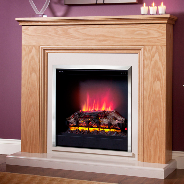 Be Modern Stanton Electric Fireplace Suite | Flames.co.uk