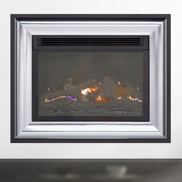 burley acumen 4111 flueless gas fire. Black Bedroom Furniture Sets. Home Design Ideas