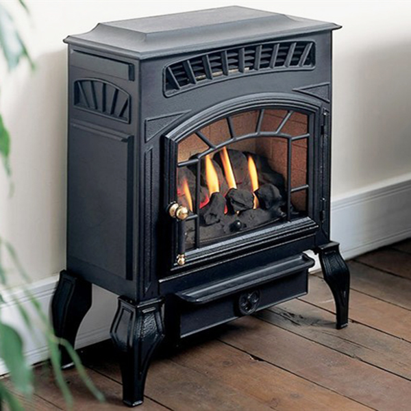 burley esteem 4221 flueless gas stove. Black Bedroom Furniture Sets. Home Design Ideas