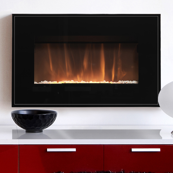 burley langham 504 r electric fire. Black Bedroom Furniture Sets. Home Design Ideas