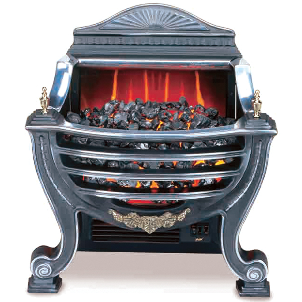 burley stamford 227 electric fire basket. Black Bedroom Furniture Sets. Home Design Ideas