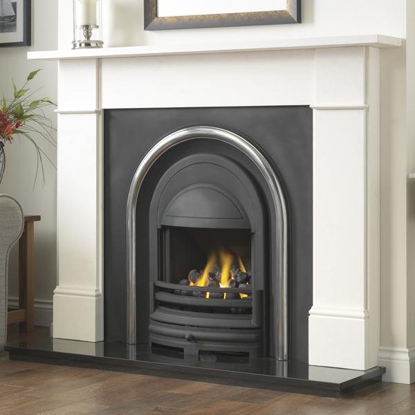 Cast Tec Flat Victorian Fireplace | Flames.co.uk