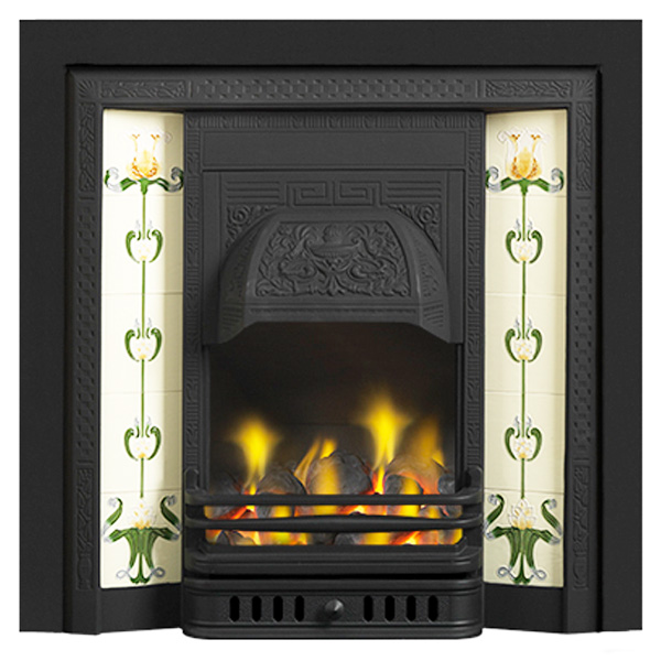 Cast Tec Glen Integra Cast Iron Fireplace Insert Flames