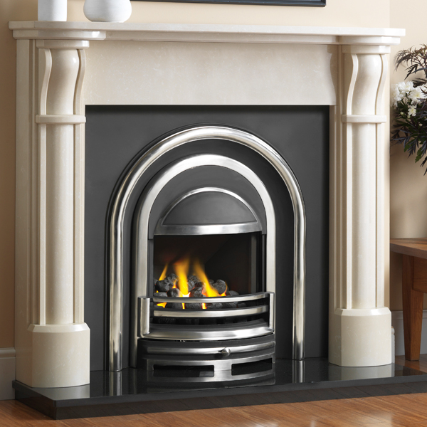 Cast Tec Ripon Marble Fireplace | Flames.co.uk