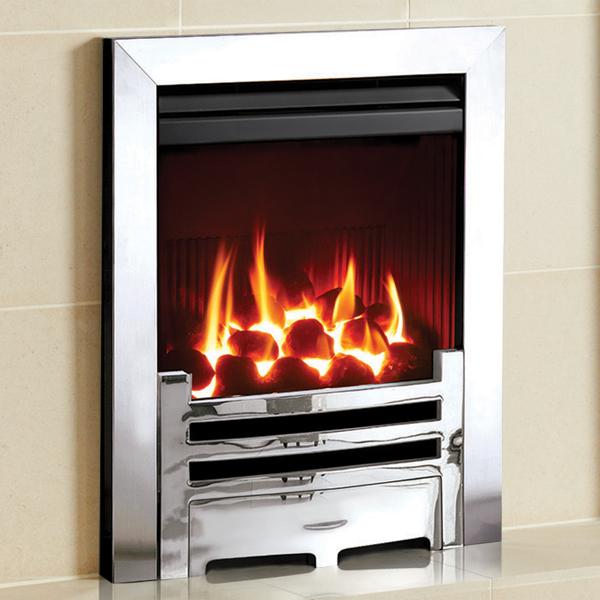 Gazco Logic HE Arts Balanced Flue Convector Gas Fire ...