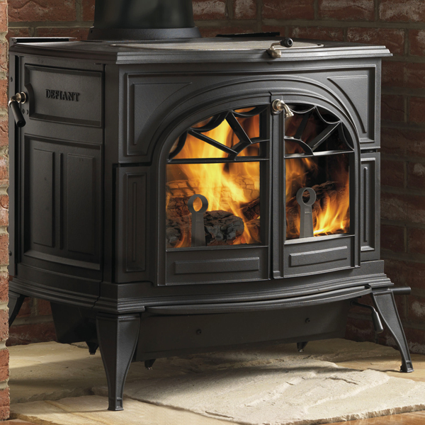 vermont castings defiant two in one wood burning stove. Black Bedroom Furniture Sets. Home Design Ideas