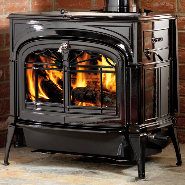 Vermont Castings Encore Two-in-One Wood Burning Stove - Vermont Castings Encore Two-in-One Wood Burning Stove Flames.co.uk