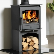 ACR Earlswood LS Log Store Wood Burning Stove
