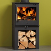 ACR Malvern II LS Log Store Woodburning / Multi-Fuel Stove