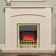 Be Modern Allegra Marble Fireplace