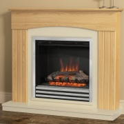 Be Modern Linmere Electric Fireplace Suite - Natural Oak