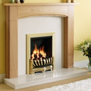 Be Modern Logan Wood Fireplace