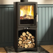 Broseley Evolution 5 Multi-Fuel Stove with Log Store
