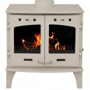 Carron 11kW Wood Burning Stove - Enamel Finish