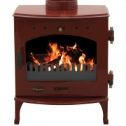 Carron 7.3kW Wood Burning Stove - Enamel Finish