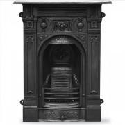 Carron Victorian Small Cast Iron Combination Fireplace